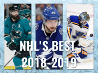 Daily UI #063 Best of 2019 - NHL 2018-2019 Season