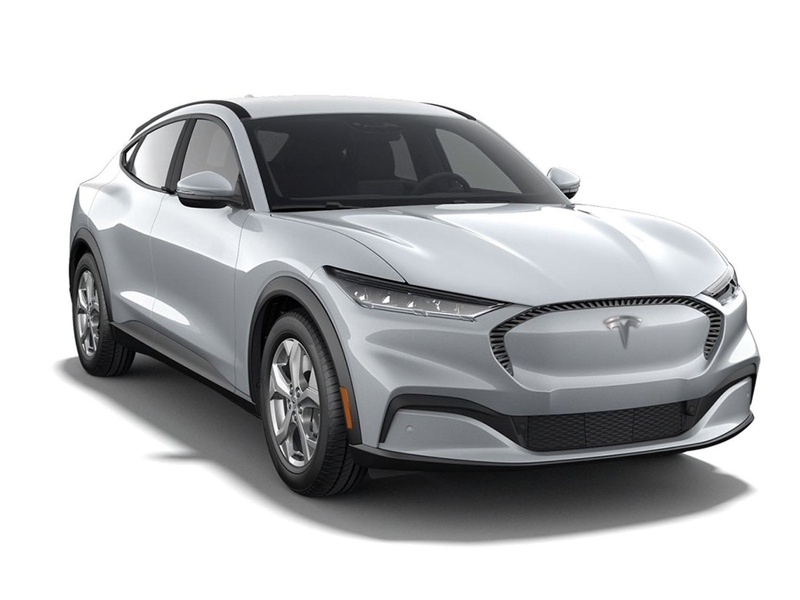 New Tesla Model Y mach-e ford mustang ford automobiles cars electric cars electric car tesla