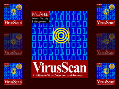 McAfee VirusScan Splash Screen Redrawn