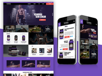 Ultimate Nutrition E-Commerce