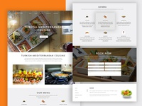 Lokma Restaurant Website Design