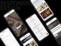 Responsive Restaurant Web Design