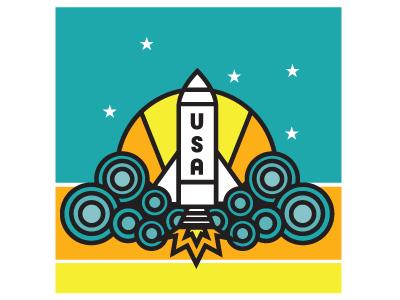 Usa rocket small