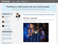 PushPage home page