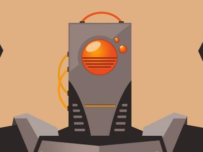 Oscar Robot vector illustration robot