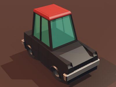 WIP 3D Car 3d cars