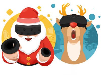 christmas Gaming gaming christmas vector