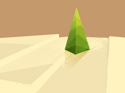 Landscape WIP vector art textures illustration