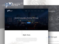 STOLEX valda website design