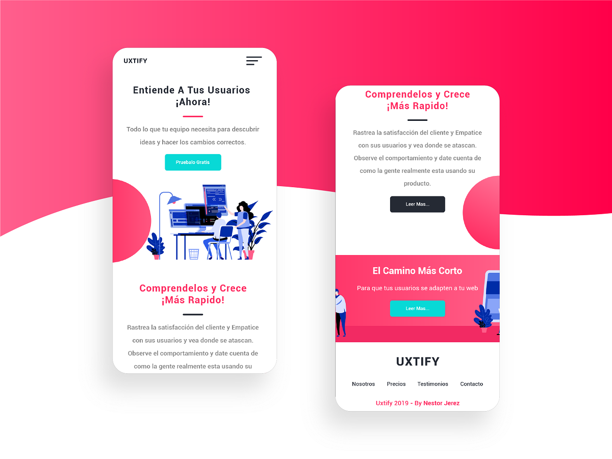 Free Web And Mobile Template Design Code Html Css By