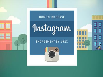Instagram title instagram infographic city buildings
