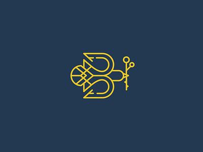 Bramble & Branch / Take 2 branch b bird bramble  branch logo