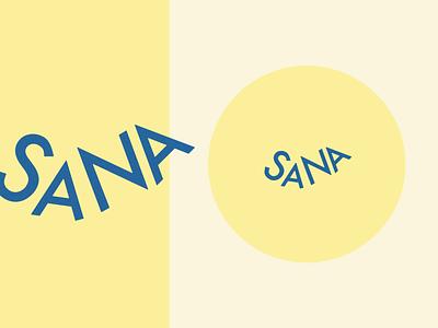 SANA | Branding design for an online community graphic design logo branding
