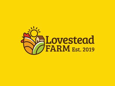 Logo Design for Lovestead Farm graphic design branding logo design branding logo