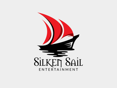 Logo Design for Silken Sail Entertainment vector branding logo design branding logo