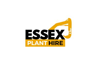 Logo Design for Essex Plant Hire vector logo design logo design branding branding