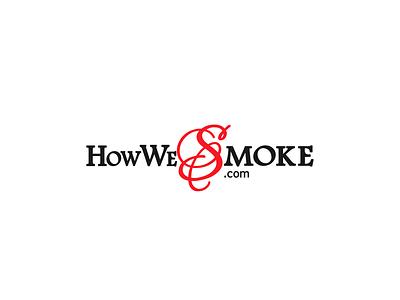 Logo Design for How We Smoke typography vector logo design branding logo design branding