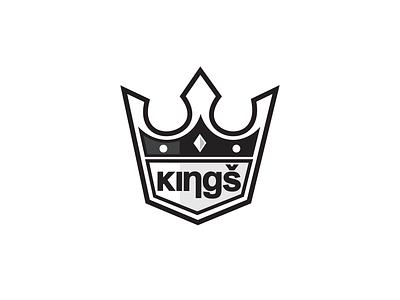 Logo Design for Kings flat vector logo design branding logo design branding