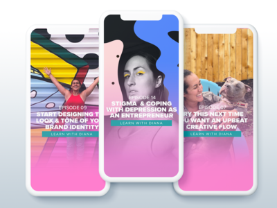 IGTV Instagram TV Cover Image Templates for Diana Gets Social