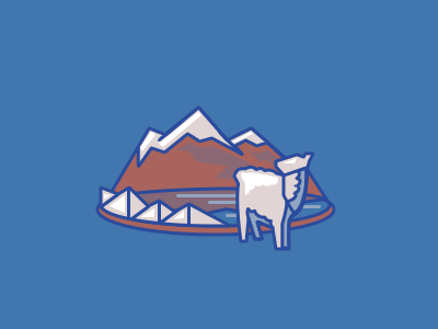 Bolivia nature mountain bolivia country vector photoshop illustration icon