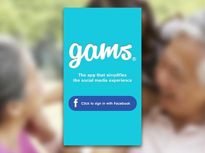 Gams ios app login