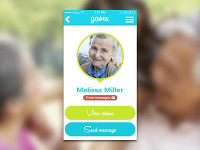 Gams - Profile ios app profile
