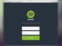 Mettings with Spotify