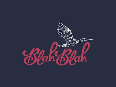 Blahblah - logo  logo typography lettering