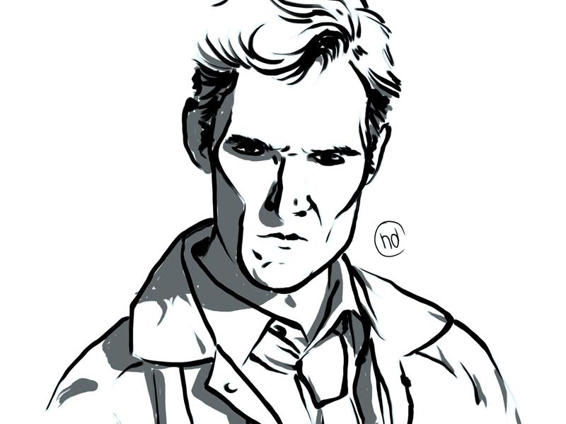 True Detective true detective matthew mcconaughey lines sketch