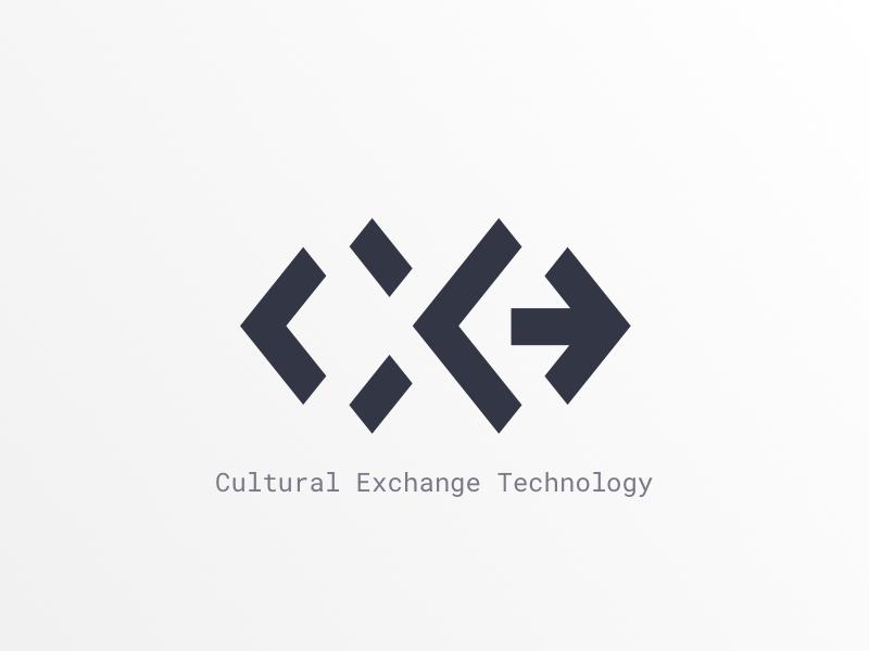 Cultural Exchange Technology - Mark mark logo branding cxt