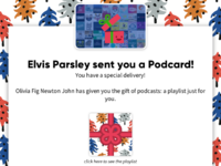 Here s your podcard