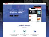 RadioPublic Refresh responsive audio listening podcasting radiopublic podcast app website