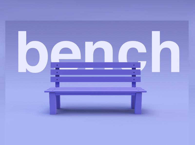 bench design c4d