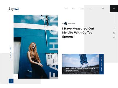 Joyrive Feature Ui Design