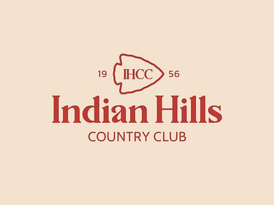 Indian HIlls golf logo golfdesign golf creative concept countryclub icon logodesigner design typography illustrator branding identity branding concept branding design branding logotype logos logo logodesign art direction