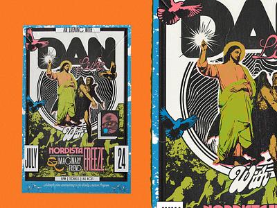 Dan Luke graphic design design behance dribble dailyart illustrator illustration poster design typography poster branding