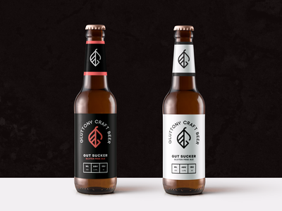Gluttony Craft Beer branding and identity identity logo design branding photoshop craft beer vector gluten free art direction illustrator logo design illustration mockups branding beer