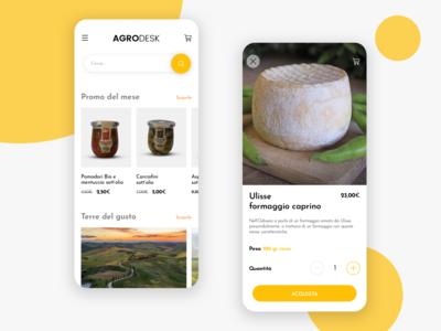 Agrodesk ecommerce app