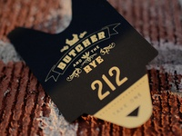 Butcher and the Rye Business Card