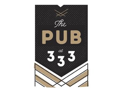 Pub333 logo option 1 333 pub