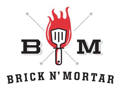 Brick And Mortar Logo restaurant pittsburgh