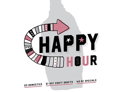 Happy Hour Promo pittsburgh restaurant pork and beans