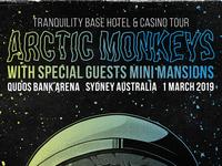 Arctic Monkeys TBH&C Tour