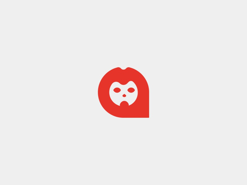 Lion symbol logo design animal minimal logo lion