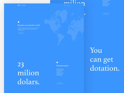 Bussines website concept company minimalistic minimal design webdesign web website bussines