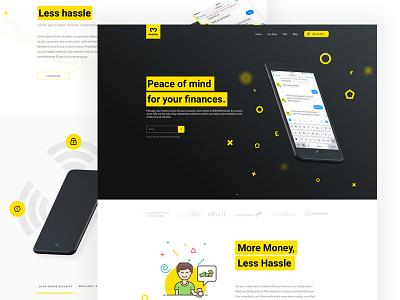 Mespo website site fresh sketch color design landing page web webdesign website