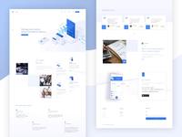 SEGURO - Money management app web design