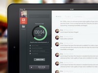 TrackingTime UI/UX