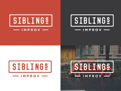 Siblings Improv Logo siblings improv joplin missouri springfield live performance vincent gotham round