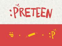 Preteen Emoticon Logo